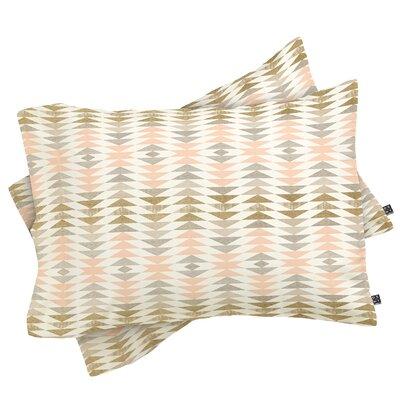 Metallic Triangles Pillowcase