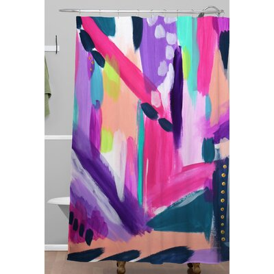 Tulip Abstract Shower Curtain