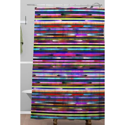Mexicali 3A Shower Curtain