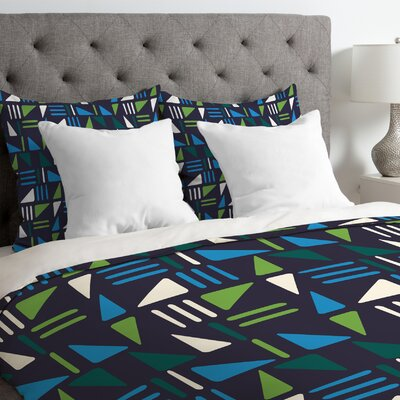 Weekend Boat Trip Duvet Cover Size: Queen