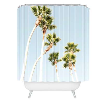 Bree Madden Beach Palms Shower Curtain