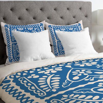 Fiesta De Corazon Duvet Cover Size: King