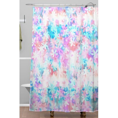 Schatzi Brown Montauk Daisy Day Shower Curtain