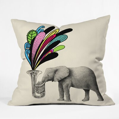 Eric Fan Throw Pillow Size: 18 H x 18 W x 5 D