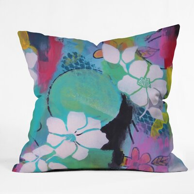 Peace Love Aloha Throw Pillow Size: 18 H x 18 W x 5 D