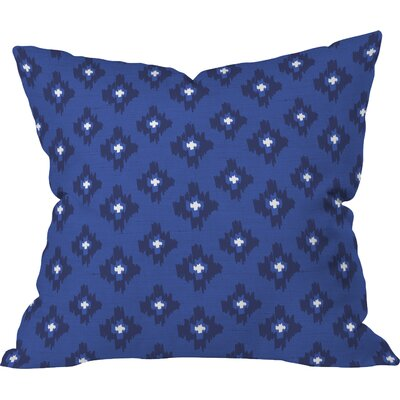 Zoe Wodarz Ikat Throw Pillow Size: 18 H x 18 W x 5 D