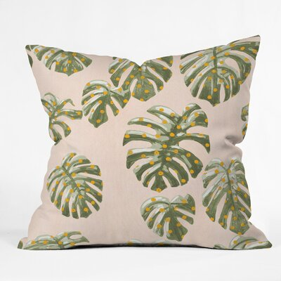 Palm Oasis Indoor/Outdoor Throw Pillow Size: 18 H x 18 W x 5 D