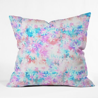 Montauk Daisy Day Throw Pillow Size: 18 H x 18 W x 5 D