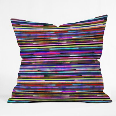 Mexicali 3A Throw Pillow Size: 18