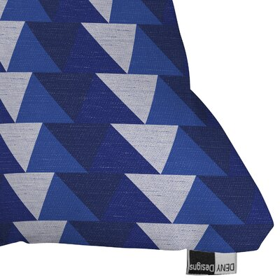 Triangle Throw Pillow Size: 18