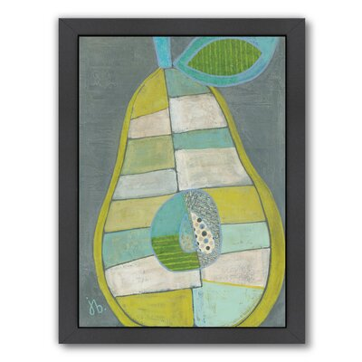 'Pear' Framed Painting Print