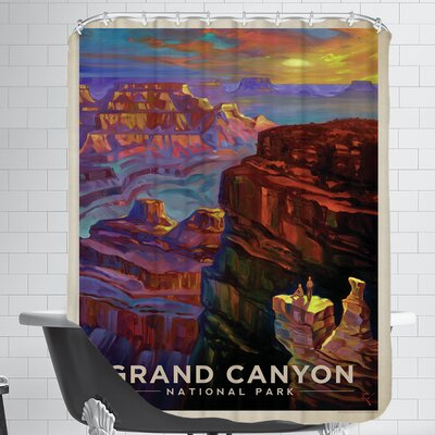 KC NP Grand Canyon Sunset Shower Curtain