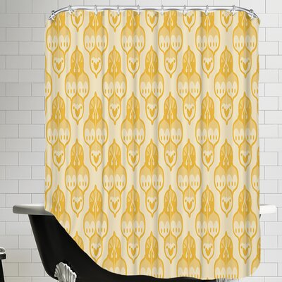 Turkish CaraKozik Shower Curtain Color: Yellow