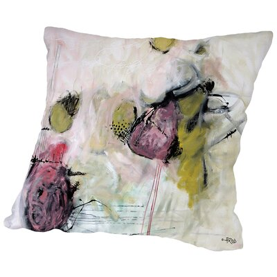 Crazy Thing Throw Pillow Size: 14 H x 14 W x 2 D