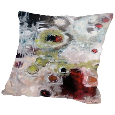 Eruptus 1.1 Throw Pillow Size: 20