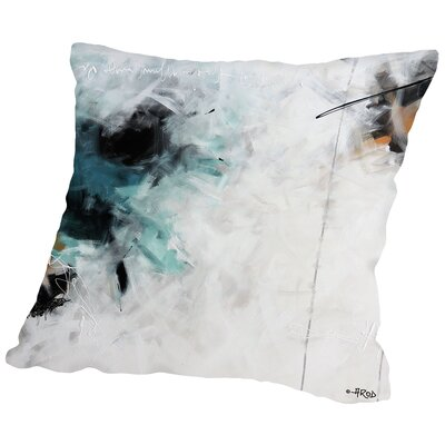 Eruptus 2.1 Throw Pillow Size: 14