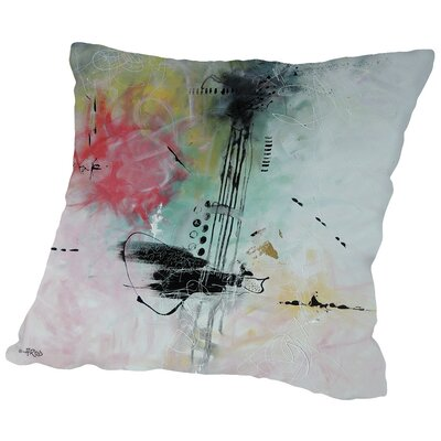 Crazy II Throw Pillow Size: 16 H x 16 W x 2 D