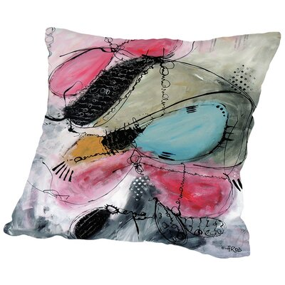 Motus De IEnvol Throw Pillow Size: 14 H x 14 W x 2 D