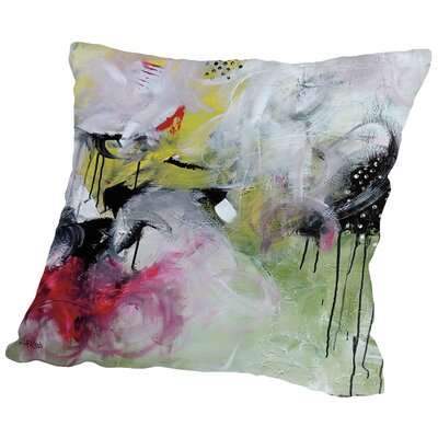 Crazy Iv Throw Pillow Size: 14 H x 14 W x 2 D