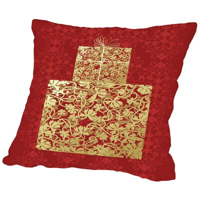 Surprise Throw Pillow Size: 16 H x 16 W x 2 D