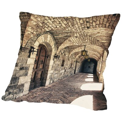 Napa Valley Throw Pillow Size: 18 H x 18 W x 2 D