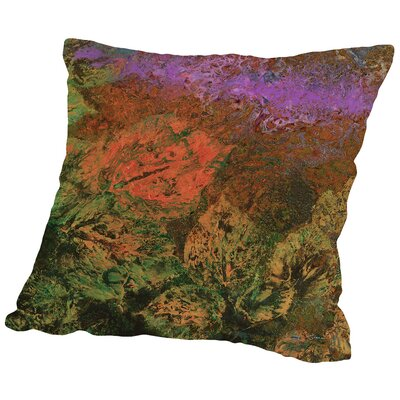 The Glades B Throw Pillow Size: 14 H x 14 W x 2 D