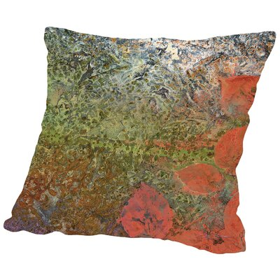 The Glades D Throw Pillow Size: 18 H x 18 W x 2 D