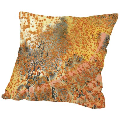 Circle of Tears C Throw Pillow Size: 18 H x 18 W x 2 D