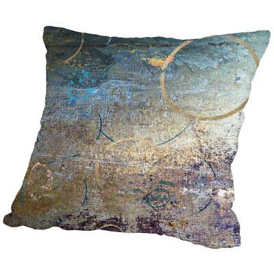 Urban Crop Circles Throw Pillow