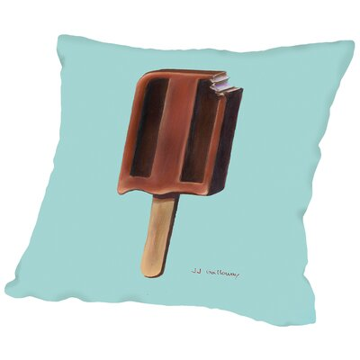 Chocolate Pop Throw Pillow Size: 18 H x 18 W x 2 D