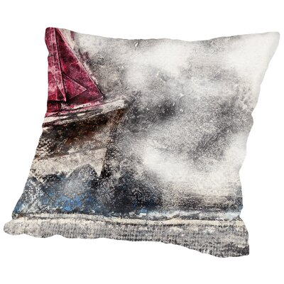 They Sailed Away for a Year and a Day Throw Pillow Size: 14 H x 14 W x 2 D