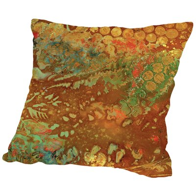 Midori - C Throw Pillow Size: 18 H x 18 W x 2 D
