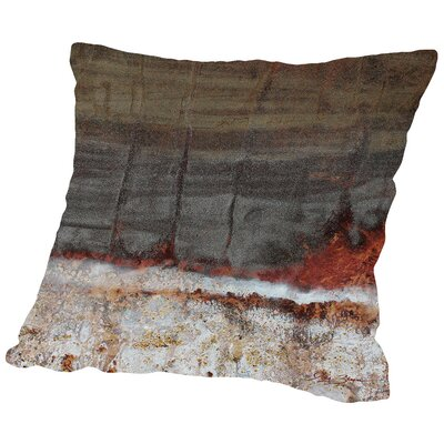 Fire & Ice Throw Pillow Size: 16 H x 16 W x 2 D
