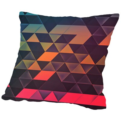 Ydgg Throw Pillow Size: 18 H x 18 W x 2 D