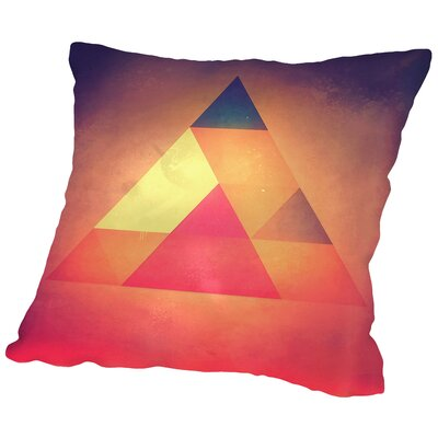 Try 3 Throw Pillow Size: 14 H x 14 W x 2 D
