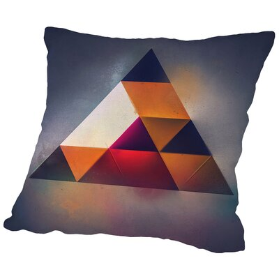 Try 7 Throw Pillow Size: 14 H x 14 W x 2 D