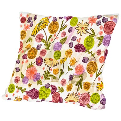 Sept Garden Throw Pillow Size: 16 H x 16 W x 2 D