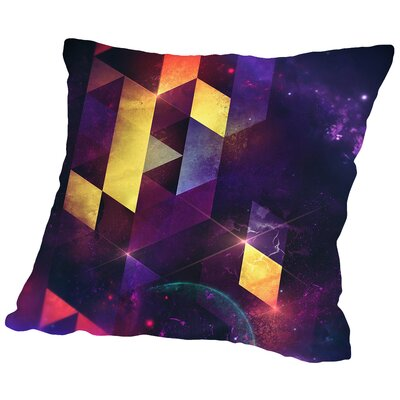 Cryxxyng Spyce Throw Pillow Size: 18 H x 18 W x 2 D