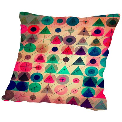 Pyck Pyck Throw Pillow Size: 18 H x 18 W x 2 D