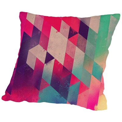 Sydeswype Throw Pillow Size: 18 H x 18 W x 2 D