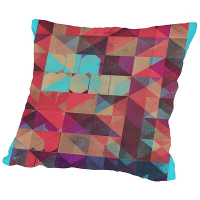 Risograph #1 Diamond Throw Pillow Size: 16 H x 16 W x 2 D