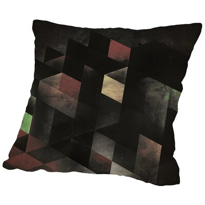 Th Cyge Throw Pillow Size: 16