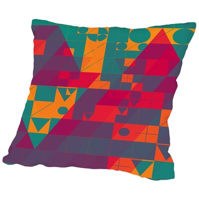 Twyxt Flyt2 Throw Pillow Size: 16