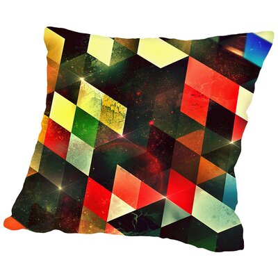 Lyyv Cylyr Throw Pillow Size: 18 H x 18 W x 2 D