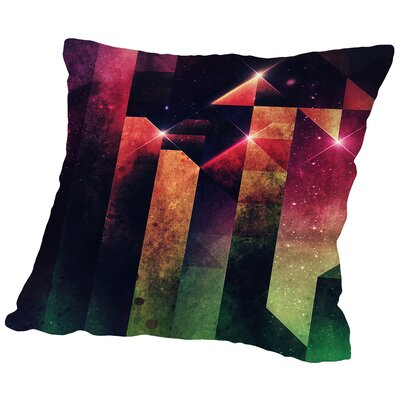 Slyyd Dwwn Throw Pillow Size: 18 H x 18 W x 2 D