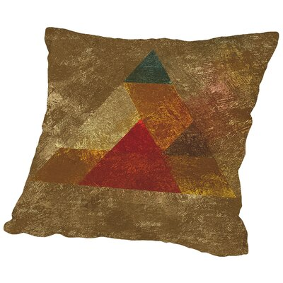 Try 5 Throw Pillow Size: 16 H x 16 W x 2 D