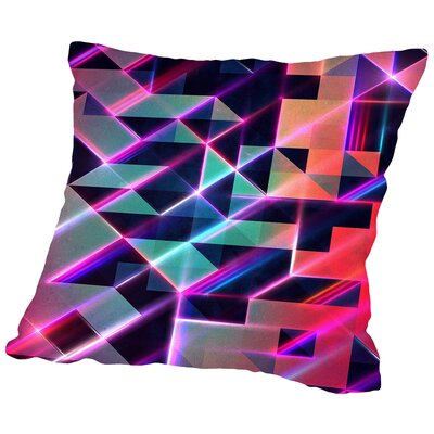 Lysyr 8  Throw Pillow Size: 16 H x 16 W x 2 D
