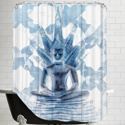 Gautama Buddha Ii Shower Curtain