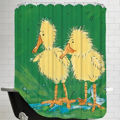 Duckling Iii Shower Curtain