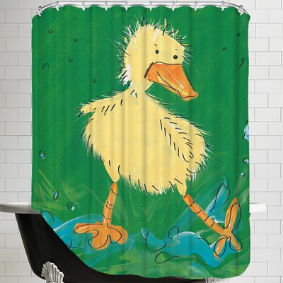 Duckling I Shower Curtain